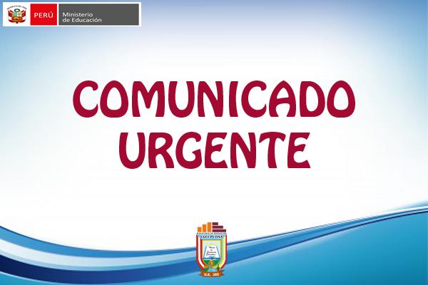 COMUNICADO URGENTE – REASIGNACIÓN  DOCENTE – ETAPA REGIONAL – SEGUNDA FASE