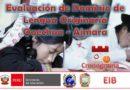 COMUNICADO URGENTE EVALUACIÓN EIB: RESULTADOS DE EVALUACIÓN ORAL Y ESCRITO