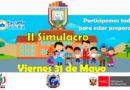 ATENCIÓN: Escuela Segura – Cronograma de simulacros