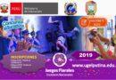 RESULTADO FINAL DE GANADORES Y CRONOGRAMA JUEGOS FLORALES 2019