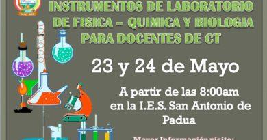 TALLER EN MANEJO DE INSTRUMENTOS DE LABORATORIO  DE FÍSICA – QUÍMICA Y BIOLOGÍA