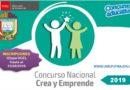 PRECISIONES Y CRONOGRAMA CONCURSO NACIONAL CREA Y EMPRENDE 2019