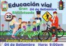 Gran Bicicleteada por la Semana de Educación Víal