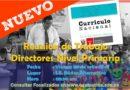 URGENTE: Reunión de Trabajo Directores Nivel Primaria