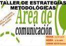 COMUNICADO: TALLER PARA DOCENTES DE COMUNICACIÓN 2° GRADO DE SECUNDARIA