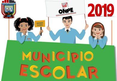 ELECCIONES DE MUNICIPIO ESCOLAR EN II.EE. DE LOS NIVELES DE INICIAL, PRIMARIA Y SECUNDARIA