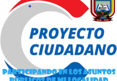 CONVOCATORIA A CONCURSO REGIONAL DEL PROYECTO CIUDADANO «PARTICIPANDO EN LOS ASUNTOS PÚBLICOS DE MI LOCALIDAD» ETAPA UGEL