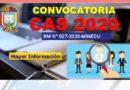 CONVOCATORIA CAS VIRTUAL 2020 – RESULTADO FINAL