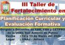 COMUNICADO: III SEMINARIO TALLER MACRO 2020