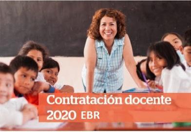 CONVOCATORIA N° 04 DE CONTRATO DOCENTE 2020 FASE I