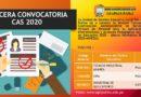 TERCERA CONVOCATORIA CAS VIRTUAL 2020 – Resultados Final