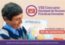 CONCURSO NACIONAL DE BUENAS PRÁCTICAS DOCENTES