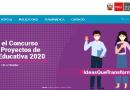 CONCURSO NACIONAL DE  PROYECTOS DE INNOVACIÓN EDUCATIVA – FONDEP 2020