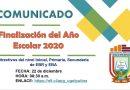 Finalización del Año Escolar 2020