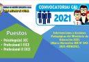 CONVOCATORIA CAS 2021 – Resultado Preliminar