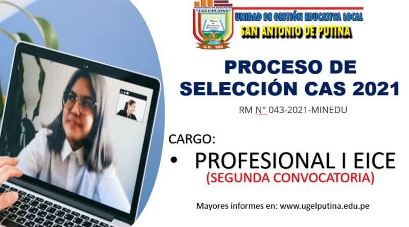 SELECCION CAS 2021 (SEGUNDA CONVOCATORIA) Resultado Final