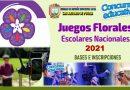 JUEGOS FLORALES ESCOLARES NACIONALES 2021